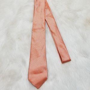 Banana Republic 100% Silk Tie Lt Orange New